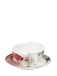 Seletti Hybrid Zora Tea Cup And Saucer