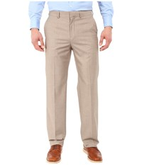 Dockers Flat Front Straight Fit Tan Men's Casual Pants