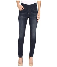 Jag Jeans Nora Pull On Frontline Denim Skinny In Deep Ocean Deep Ocean Women's Blue