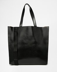 Asos Tote Bag With Contrast Internal