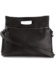 Maison Margiela Large Square Body Tote Black