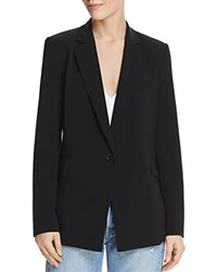 Dylan Gray Single Button Blazer Black
