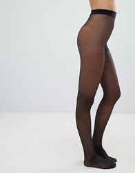 Gipsy 20 Denier Invisible Shaper Tights Black