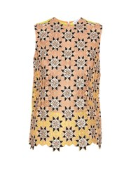 Jonathan Saunders Jessica Guipire Lace Sleeveless Top