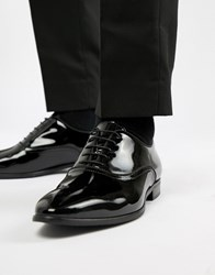 Kurt Geiger London Ralph Patent Oxford Shoes Black