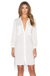 Mother The Cadet Dress White