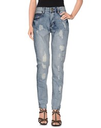 Atelier Fixdesign Denim Denim Trousers Women Blue