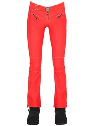 Jet Set Angel Star Embroidered Nylon Ski Pants