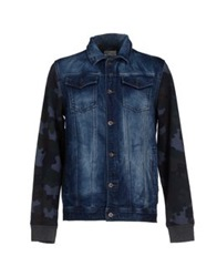 Desigual Denim Outerwear Blue