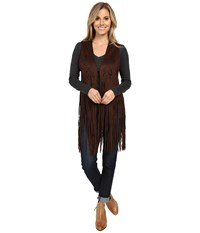 Scully Abbey Funky Vest Chocolate Women's Vest Brown