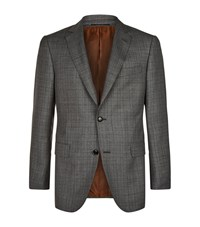 Pal Zileri Tailored Wool Jacket Male Grey