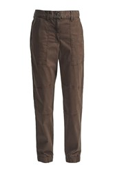 Great Plains Isabel Stretch Trousers Green