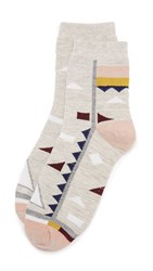 Madewell Spring Fling Mid Ankle Sock Heather Grey