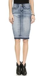 Blank Denim Pencil Skirt Cry Baby Music