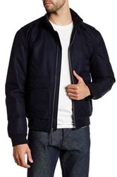 Lands' End V2 Bomber Jacket Blue