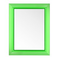 Kartell Francois Ghost Mirror Bottle Green Large
