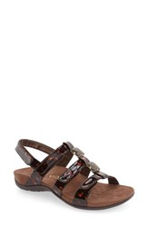 Vionic Women's 'Amber With Orthaheel Technology' Adjustable Sandal Tortoise
