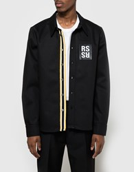 Raf Simons Slim Fit Jeans Shirt Black