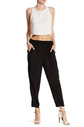 Lysse Relaxed Crop Pant Black