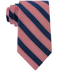 Club Room Men's Sail Stripe Tie Only At Macy's Red