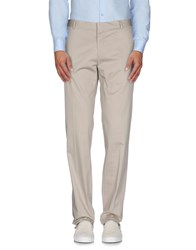 Paoloni Trousers Casual Trousers Men Beige