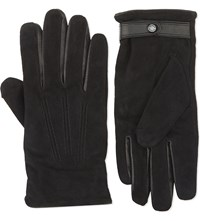 Ted Baker Classic Suede Gloves Black