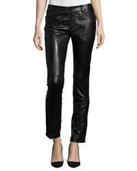 Zadig And Voltaire Evrell Deluxe Leather Pants Noir