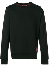 Ck Calvin Klein Logo Badge Sweatshirt Black