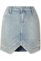 Rta Tempest Denim Mini Skirt Blue