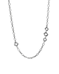 John Hardy Naga Sterling Silver Figaro Chain Necklace With Figurative Clasp 36