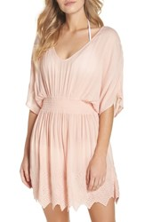 Chelsea 28 Chelsea28 Goddess Cover Up Dress Pink Rosecloud