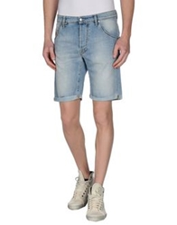 Jcolor Denim Bermudas Blue
