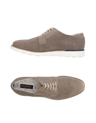 Alberto Guardiani Lace Up Shoes Grey