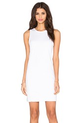 Tyler Jacobs Spector Tank Dress White