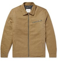 Noon Goons Puppytooth Cotton Jacket Brown