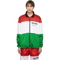 Moschino Reversible Multicolor 'Couture ' Jacket
