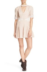 Free People Women's 'Ma Cherie' Pleated Minidress