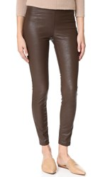 Blank Vegan Leather Pants Passing Notes