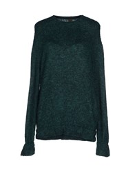 Jijil Sweaters Emerald Green