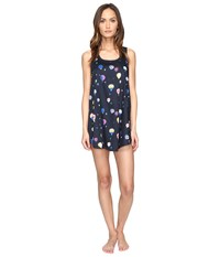 Kate Spade Cotton Sateen And Cotton Modal Chemise Balloon Party