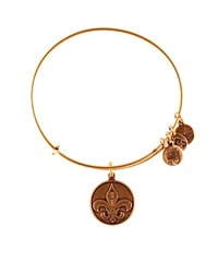 Alex And Ani Fleur De Lis Bangle Rafaelian Gold