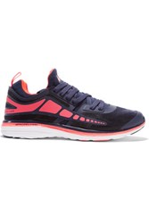 Athletic Propulsion Labs Prism Mesh And Rubber Sneakers Midnight Blue