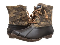 Sperry Saltwater Novelty Brown Camo Women's Rain Boots Multi
