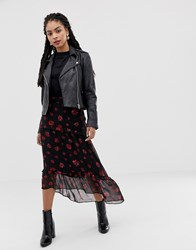 Minimum Moves By Floral Midi Skirt Multi