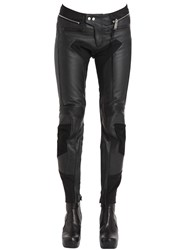 Alyx Color Block Leather Moto Pants