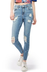 Topshop Women's Jamie Super Ripped Skinny Jeans