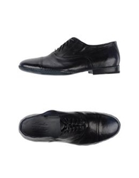 Alexander Hotto Lace Up Shoes Dark Blue