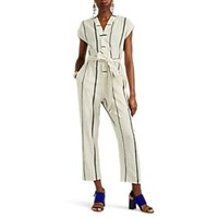 Ace And Jig Rhys Checked Cotton Jumpsuit Multi