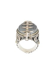 Stephen Webster Fish Skeleton Cocktail Ring Metallic