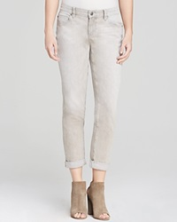 Eileen Fisher Boyfriend Jeans In Vintage Grey